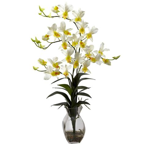Orchid Arrangements In Vases by Just Add Orchids 5 In Orchid In Ceramic Deco Pot
