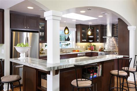 Modern Kitchen Island Lights by Contemporary Kitchen