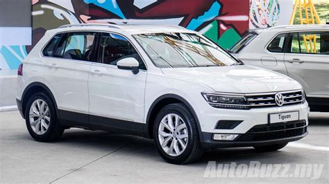 volkswagen malaysia 2017 volkswagen tiguan launched in malaysia two variants