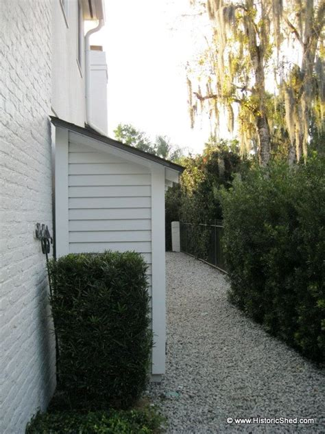 Narrow Shed For Side Of House The 106 Best Images About Small Outdoor Storage On