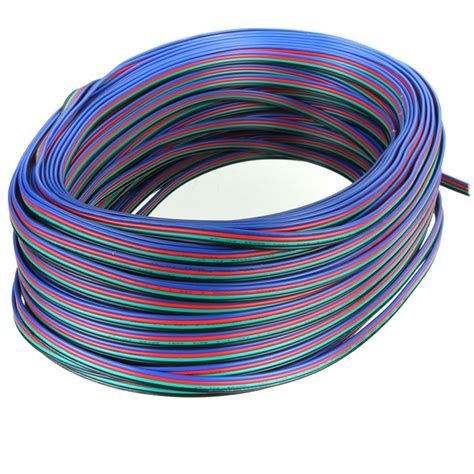 4 pin extension wire connector cable for rgb led