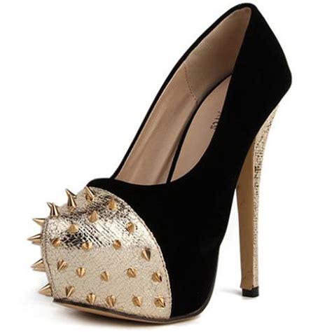 spike high heel spike studded stiletto high heel pumps sws12153