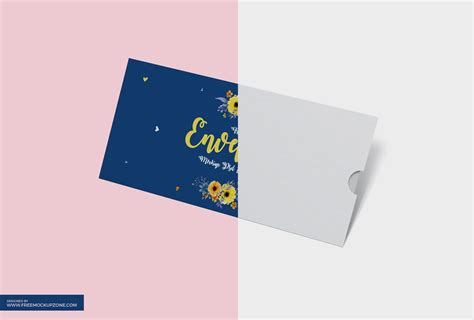 free envelope mockup psd template