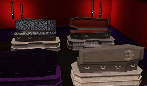 coffin beds wasn t there a double coffin bed for vires the sims