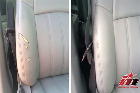 Interior Leather Repair by Interior Repair Interior Magic Of Raleigh Nc