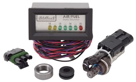 air fuel new edelbrock performer series air fuel ratio monitor us free shipping xs ebay