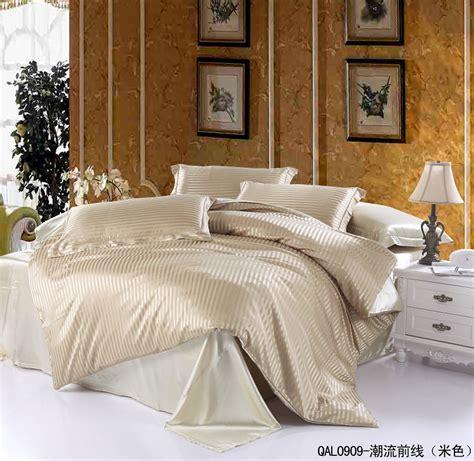 beige king size comforter sets beige striped silk satin bedding sets for king size queen