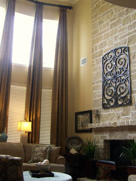 high ceiling curtains 1000 ideas about tall window treatments on pinterest