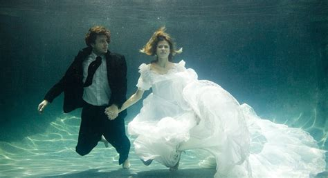Wedding Underwater by Underwater Portraits The Tell Tale