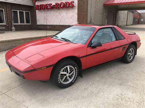1984 pontiac fiero 1984 pontiac fiero for sale classiccars cc 962833