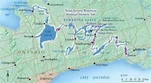 canada waterways map trent severn waterway the waterway canadian geographic