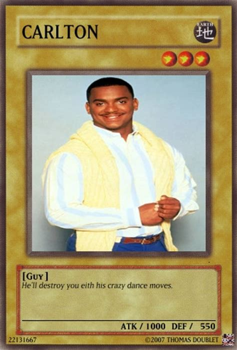 Carlton Banks Meme - carlton banks card by urkel8534 on deviantart