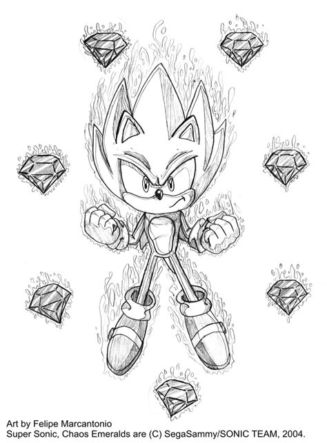 supersonic chaos emerald coloring pages sketch coloring page