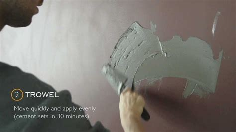 Faux Finish Walls diy cement wall youtube