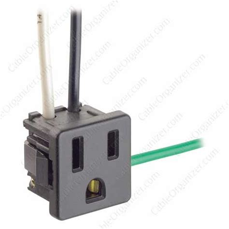 leviton snap in blade receptacle