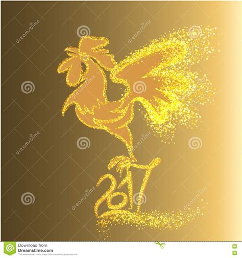 new year gold vector happy new year 2017 background with gold shiny rooster
