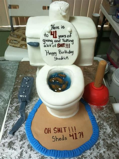 Best Images About Toilet Cake On Pinterest