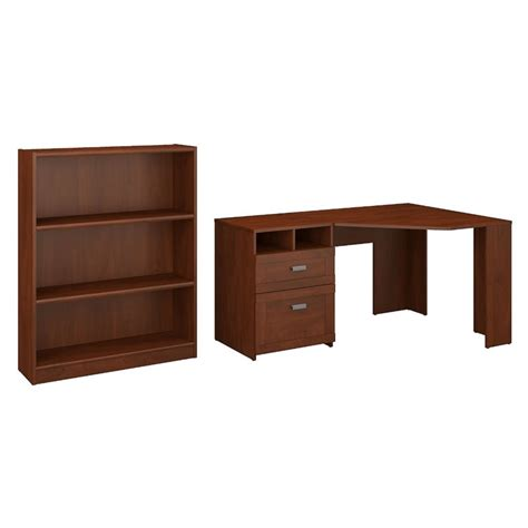 bush furniture wheaton reversible corner desk bush furniture wheaton reversible corner desk with