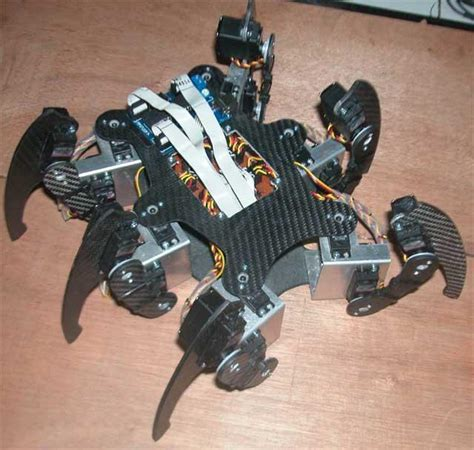 membuat robot dengan joystick hexapod 171 delta electronic articles