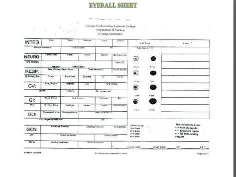 time management sheets for nurses