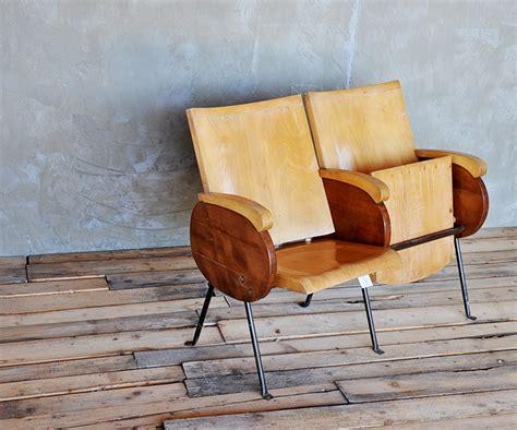 poltrone vecchie poltrone cinema legno vintage poltrone interior design