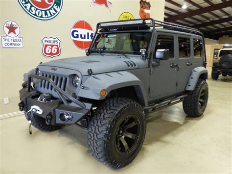 Jeep Wrangler For Sale Cities 2015 Jeep Wrangler Custom Kevlar Jeeps For Sale