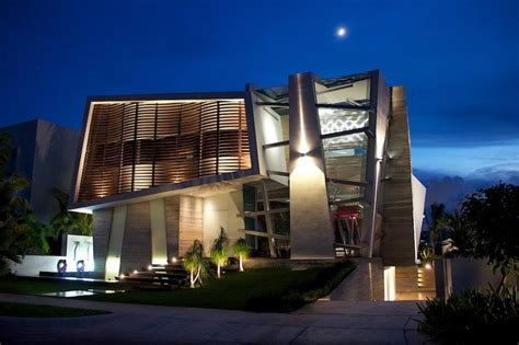 modern mexican architecture modernist mexican house with abstract shape and exciting