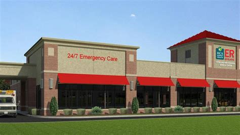 freestanding emergency rooms hca opens free standing er in olathe kansas city business journal