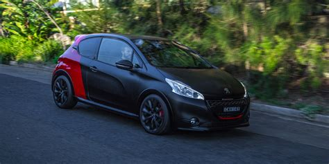 peugeot 208 gti 30th anniversary 2015 peugeot 208 gti 30th anniversary edition review