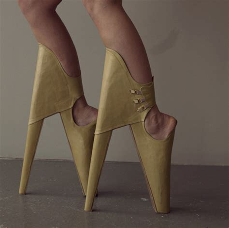 these high heels are impossible to walk in things