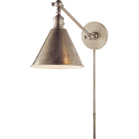 Sconce Backplate Swing Arm Lamp Plug In Lamps At Bellacor Leaders In