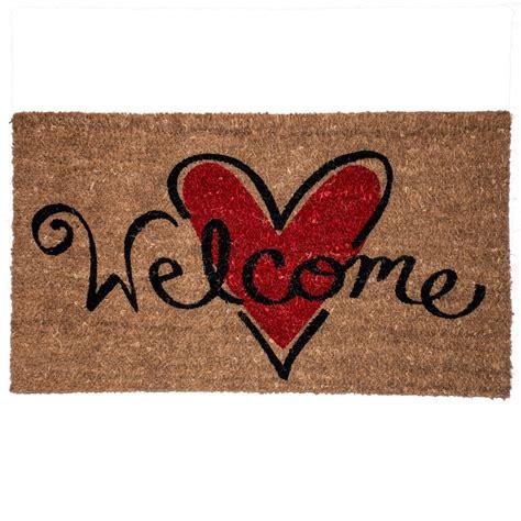 zerbino welcome zerbino in cocco welcome con cuore casa dello zerbino