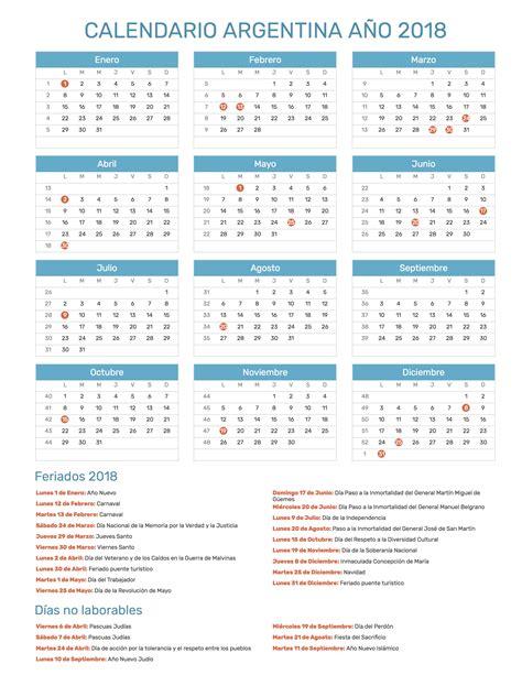 calendario escolar de argentina calendario argentino con feriados para imprimir 2017