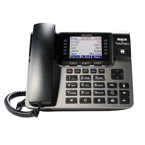 wireless voip desk phone rca unison u1100 4 line wireless desk phone accessory