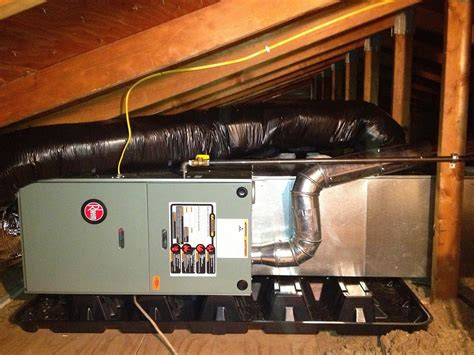 Attic Mounted Air Conditioning System - attic mounted air conditioning units attic ideas