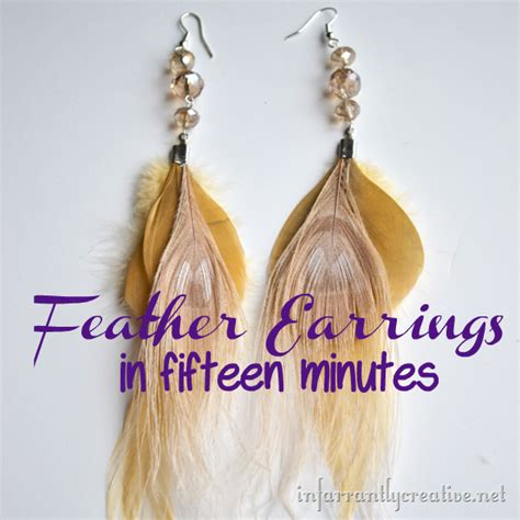 how to make feather jewelry fletchling jig diy crafts