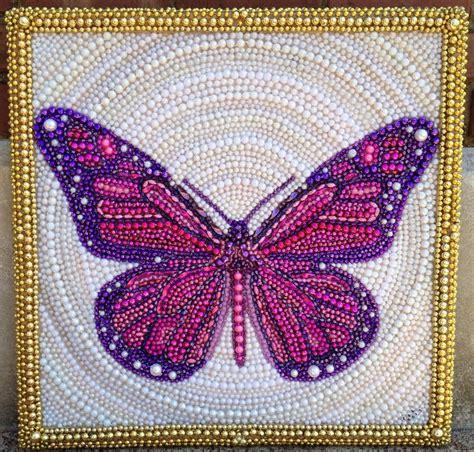 beaded paintings bead mardi gras bead