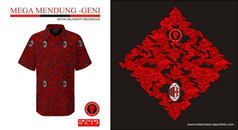desain baju batik vektor batik milanisti indonesia megamendung geni meteorbeta