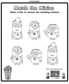 minions free printable activities and 1000 images about minion madness on minion