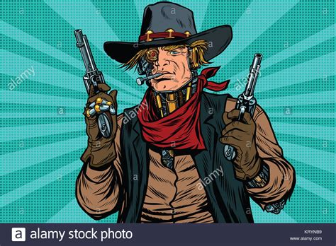 film cowboy robot bandit film stock photos bandit film stock images alamy