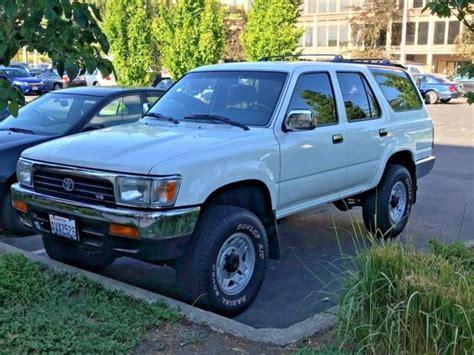 how things work cars 1993 toyota 4runner lane departure warning 1993 toyota 4 runner sr5 v6 automatic 4x4 87k original