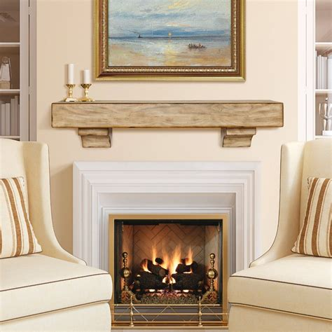 simple and sophisticated fireplace mantel ideas
