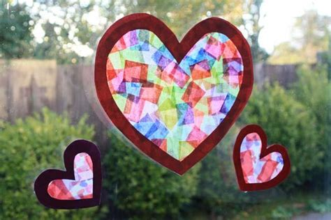 Tissue Paper Suncatcher Craft - arts and crafts marin mommies