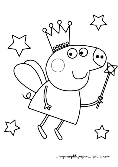 free pepa para colorear coloring pages colorear peppa pig