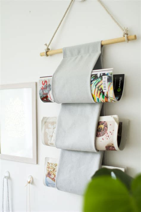 Diy Hanger - diy canvas magazine hanger design sponge bloglovin