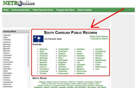 County Carolina Property Records South Carolina Deed Forms Quit Claim Warranty And Special Warranty Eforms