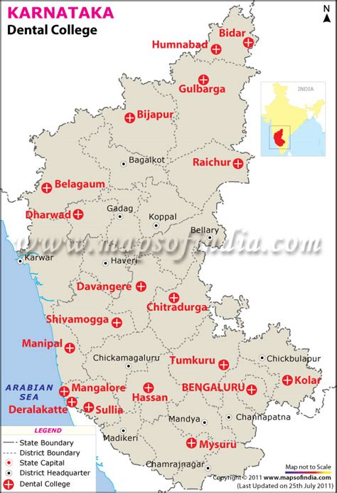 Mba Program Tuition Comparison Dc Area by Dental Colleges In Karnataka Map Of Karnataka Dental Colleges