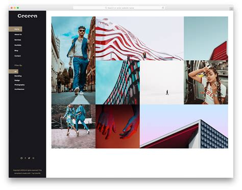 28 Best Free Photography Website Templates For Professionals Best Photography Website Templates