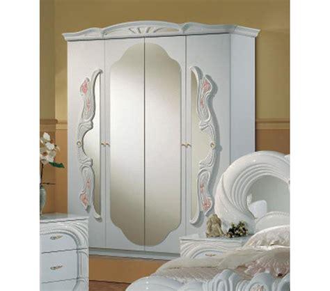italian white bedroom furniture dreamfurniture vanity white italian classic