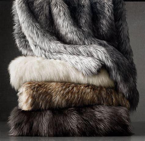large faux fur throws for sofas thesofa